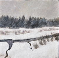 "Cold White Dream - 8"" X 10"""