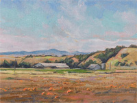 "Pumpkinland Santa Ynez Valley - 9""X12"""