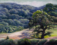 "Oak Shadows - The Alisal Ranch - 11"" X 14"""